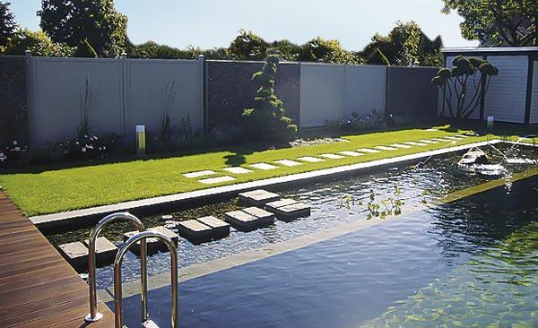 Hausgarten Pool Objekt Landschaft